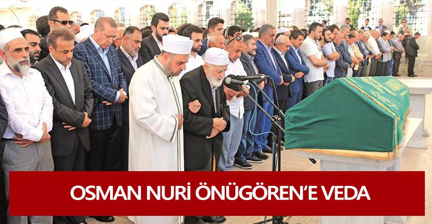 Osman Nuri Önügören'e Veda