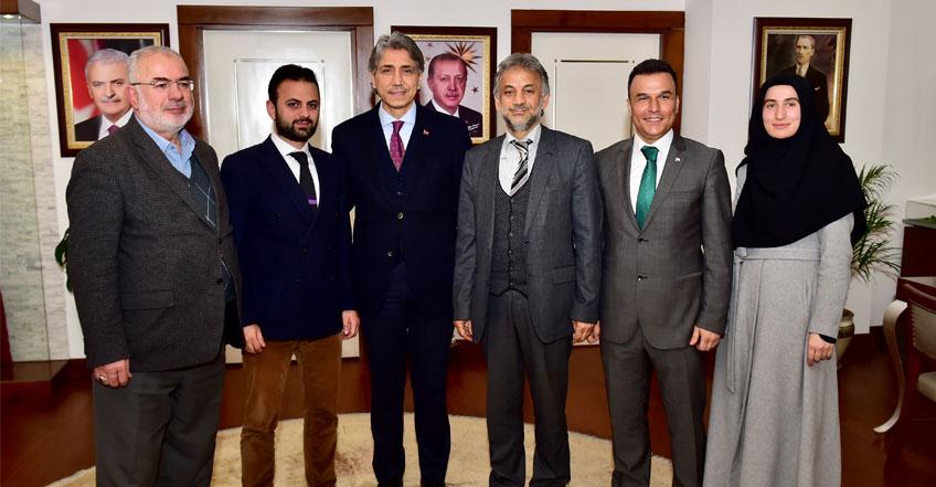 Fatih Belediye Başkanımızı Ziyaret