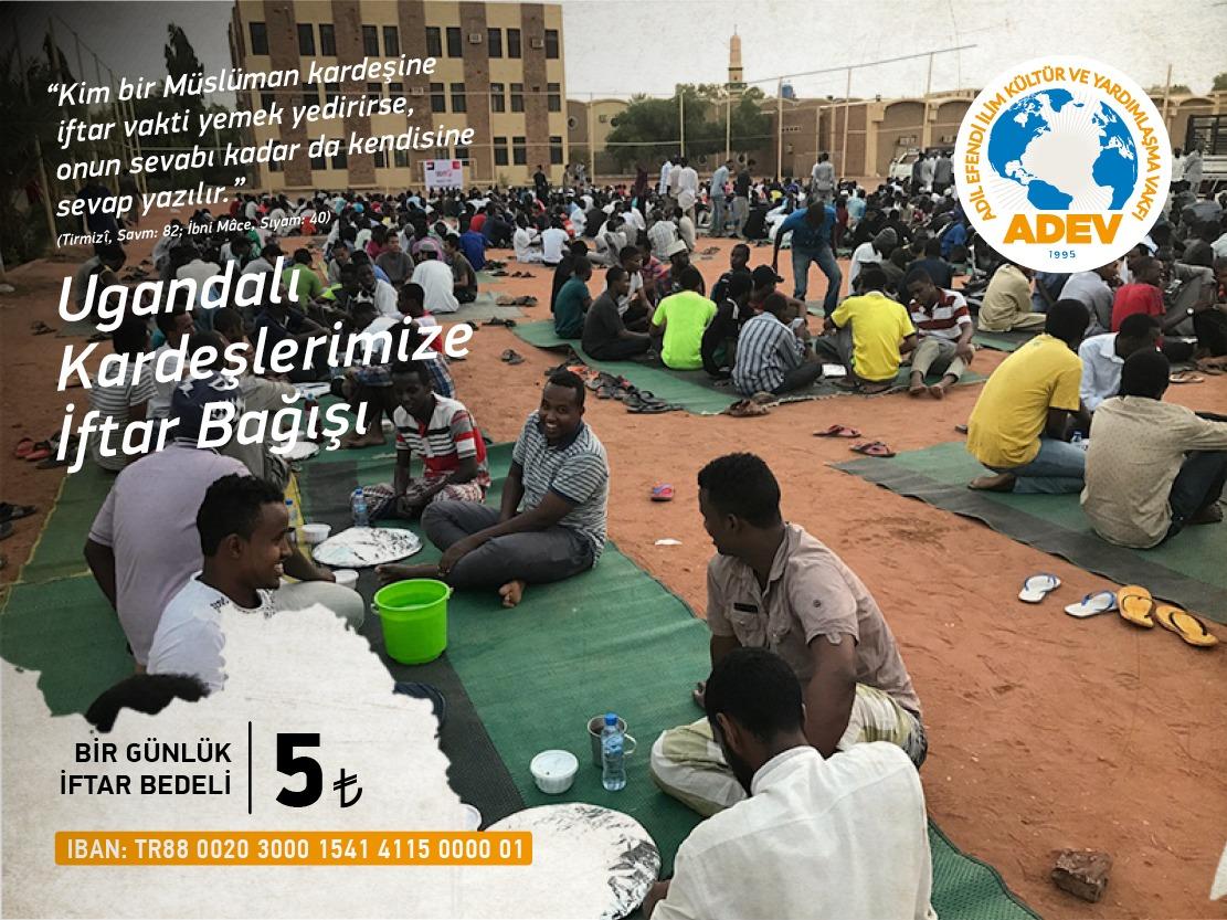 Ugandalı Kardeşlerimiz İçin Bir İftar Sofrası da Siz Kurun.